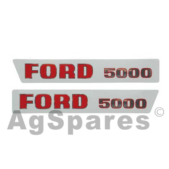 Ford 5000 Tractor Decals : Decal set ford gt paint decals tractor