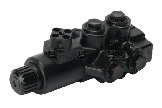 Tractor Hydraulic Diverter Valve 12v : Solenoid diverter valve bank control valves