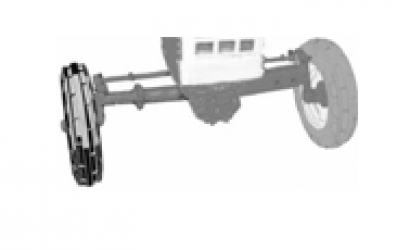 2WD Front Axle