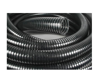Seeder Hose Clear/Black Spiral