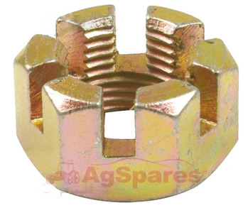 Nut - Front Wheel Hub Retainer