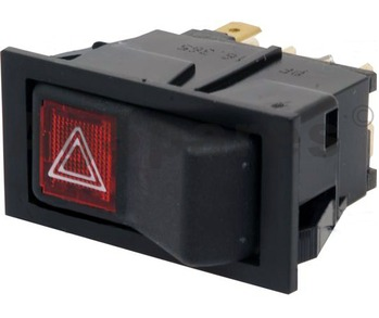 Rocker Switch - Hazard