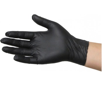 Black Dragon Nitrile Gloves -Box of 100