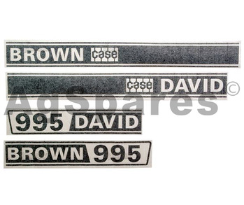 Decal Set DB 995