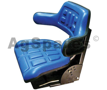 Suspension Seat Std Wrap Around Blue