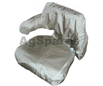 Seat Cover Ag Wrap Around Black