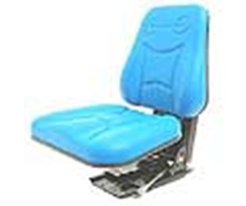 Suspension Seat H/D High Back - Blue