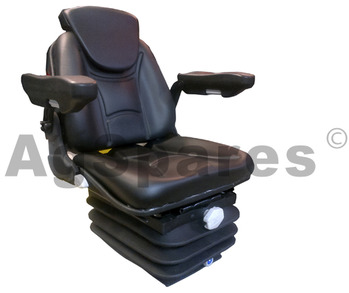 Deluxe Vinyl Suspension Seat Heavy Duty