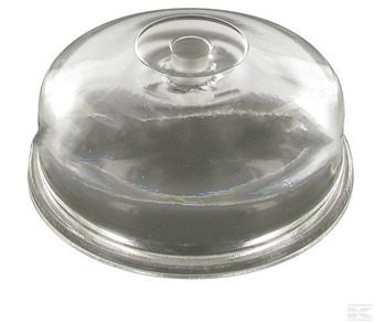 Glass Fuel Filter Bowl (10mm Hole)
