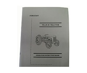 Owners Instruction Booklet -TEA