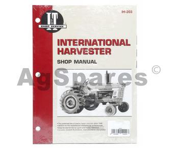 international 1055 tractor service manual
