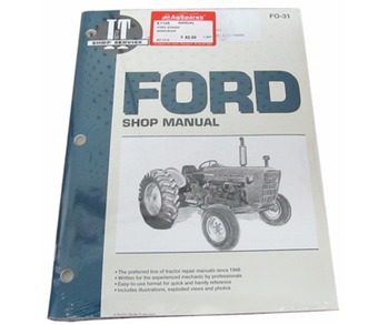 Manual Ford 2/3/4000 Service