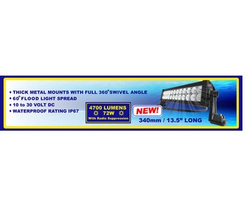 LED Lightbar 4700 Lumens 340mm long