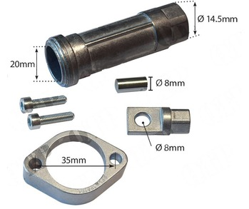 Cable - FEL Connector - Flat Flange for