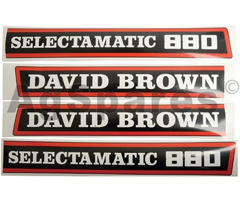Decal Set DB 880 Selectamatic