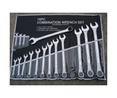 16 Piece Spanner Set -Imperial 1/4 to