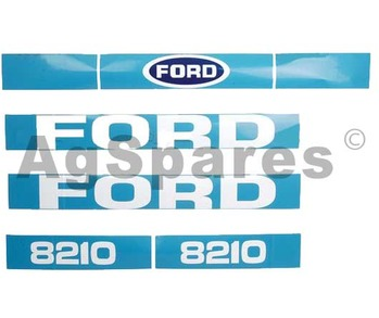 Decal Set Ford 8210