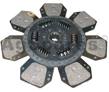Clutch Plate Case 7 Paddle Sprung