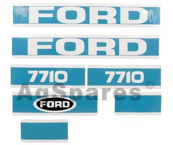 Decal Set Ford 7710