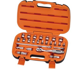 Ratchet Socket Set 3/8in Drive 26pcs