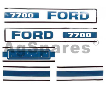 Decal Set Ford 7700
