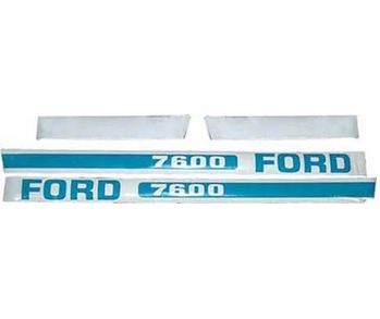 Decal Set Ford 7600