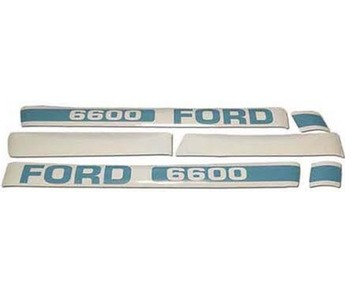Decal Set Ford 6600
