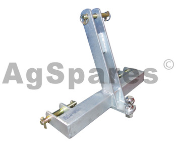 Towbar 3 Point Link Galvanised -Dual Cat
