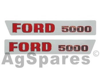 Ford New Holland Tractor Parts Agspares Whangarei Zealand. Decal Set Ford 5000. Ford. Ford 5000 Steering Column Diagram At Scoala.co