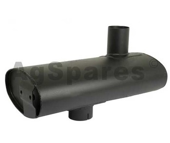 Muffler- Under Bonnet CIH 5130-5150