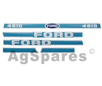 Decal Set Ford 4610