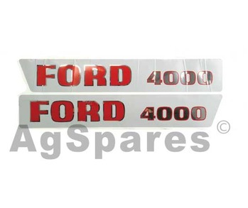 Decal Set Ford 4000 (>68)