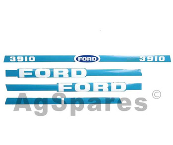 Decal Set Ford 3910