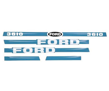 Decal Set Ford 3610