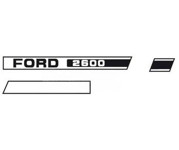 Decal Set Ford 2600