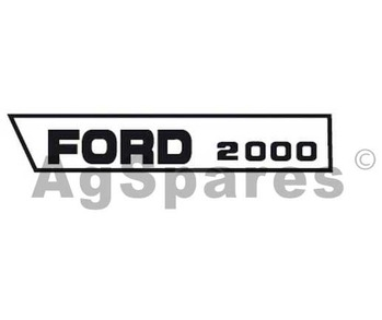 Decal Set Ford 2000 (>68)