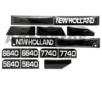 Decal Set - F5640,6640,7740 from 11/95