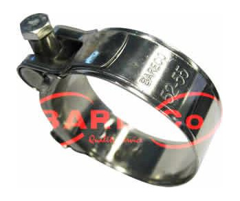 Stainless Steel Hose Clamp 122-130mm