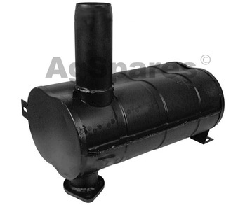 Muffler JD Under Bonnet 1040-2150