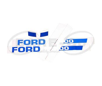 DECAL SET=FORD 6610