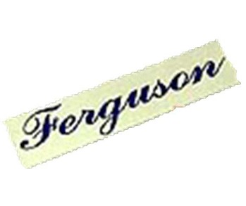 Badge Ferguson Metal Plate