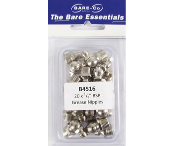 BARE ESSENT 1/8 BSP GR NIPPLES