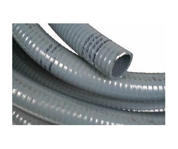 PVC HOSE 38MM HD GREY - 20 MTRS