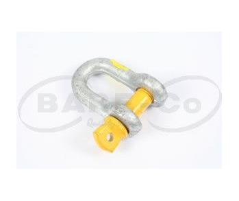 D SHACKLE 13MM(1/2) WLL RATED