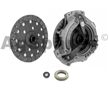 Clutch kit -Dual MF35 Pet & 4 Cyl Dsl