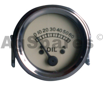 Gauge -Oil Presure (White)