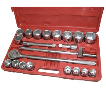 Socket Set 3/4 Drive 21 Piece 21 to 50mm