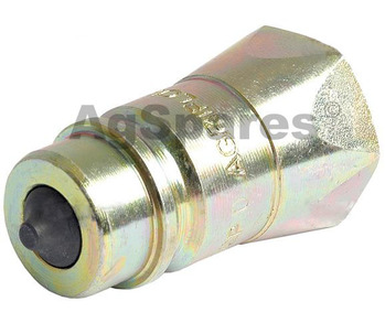Coupling 1/2BSP Male Hyd Q/R Poppet End