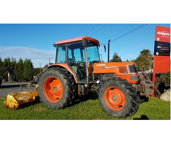 85hp Kubota Tractor with Mulcher **SOLD**